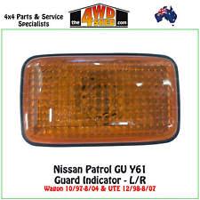 Indicator Guard Repeater Blinker Light fit Nissan GU Patrol Y61 Amber