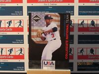 2011 Limited USA Baseball National Team #20 Marcus Stroman SN 045/199