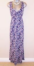 Stunning Fat Face Ditsy Floral Stretch Evening Occasion Day Maxi Dress Size 14