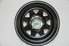 To Suit Mazda BT50/Ford Ranger After Market 17x8 Black Sunraysia Style Steel Rim