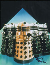 DR WHO personally signed 10x8 - DAVID GRAHAM - 1960s DALEKS VOICE