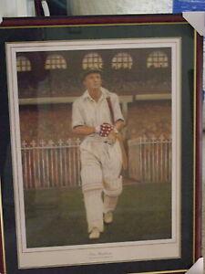 Donald Bradman 3rd Test v's England 1937 at MCG by Michael Parker (Artist Proof)