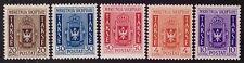 ALBANIA OCCUPAZIONE ITALIANA 1940 - SEGNATASSE n. 1/5 € 450