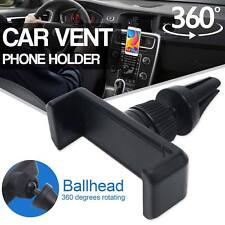 Black Car Mount Air Vent Holder Cradle for iPhone Samsung Universal Cell Phone