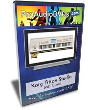 Korg Triton Studio DVD Video Training Tutorial Manual