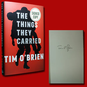 The Things They Carried by Tim O'Brien (1990,HC,1st) SIGNED ANNIVERSARY EDITION