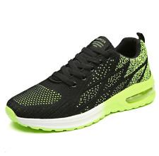 Men's Fashion Air Cushion Shoe Running Casual Walking Gym Sneaker, Green