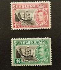 St Helena, pair of MNH stamps
