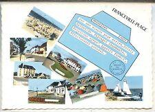CP 14 Calvados - Franceville-Plage - Multivues colorisées