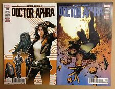 Star Wars Doctor Aphra 1 and 2 Lot Vf store stock 1st prints hot series Marvel