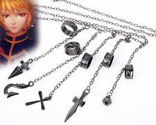 HUNTER×HUNTER Kurapika GON Cosplay Ring Five Fingers Alloy Chain Spirit Chain