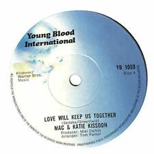 "Mac & Katie Kissoon - Love Will Keep Us Together - 7"" Record Single"