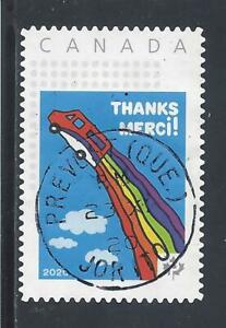 2020 Special Issue to Canada Post Employees Single from Booklet USED