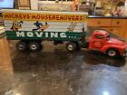 LINEMAR MICKEYS MOUSEKEMOVERS TIN LITHOGRAPHED MOVING TRUCK