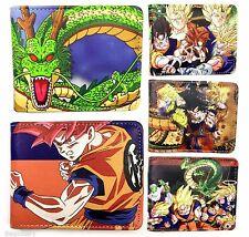 New Dragon Ball Z Wallet Slim Fold Anime Goku Warriors Stylish UK Bifold Cartoon
