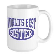 11oz mug Father Dad World's Best Big Sister Printed Ceramic Coffee Tea Cup Gift