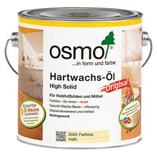 OSMO 3062 Hartwachs Öl Farblos Matt 750 ml