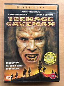 Teenage Caveman DVD 2001 Post-Apocalyptic Sci-Fi Horror Film Movie Remake