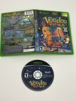 Voodoo Vince for Microsoft Xbox Disc w/ Case & Display Art / No Manual