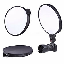 "15"" 40CM Round Disc Softbox Flash Diffuser for Camera Flash Speedlite Speedlight"