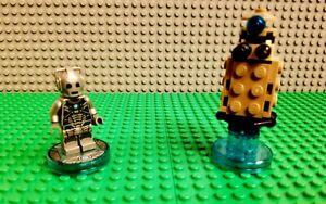 LEGO Dimensions Dr. Who Cyberman & Dalek Fun Pack 71238 Complete! PS4 Wii U Xbox