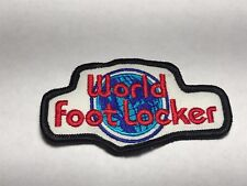 World Foot Locker Company Shoes Sneakers Store Mall Logo Sew Iron Patch J