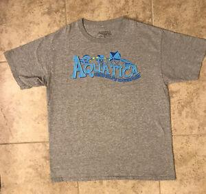 Aquatica SeaWorld's Waterpark T-shirt/Tee Size Youth XL