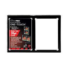 Ultra Pro 35PT 2-Card Black Border UV ONE-TOUCH Magnetic Holder