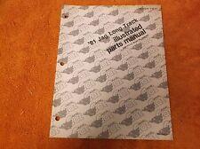 ARCTIC CAT 1981 JAG LONG TRACK ILLUSTRATED PARTS MANUAL