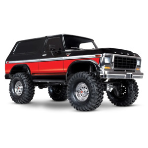 Traxxas 82046-4 TRX-4 Ford Bronco 1/10 4WD Red Brand New