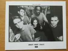 SMART WENT CRAZY Dischord 8x10 BLACK & WHITE Press Photo 90's INDIE ROCK BAND