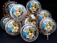 12-Bautizo Boda Party Rosaries Cross Scented,Recuerdos de,Gift,Communion,Baptism