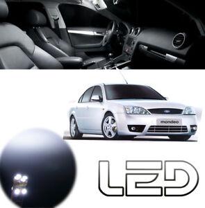 Ford MONDEO  3 - 12 Ampoules LED Blanc plafonnier Habitacle coffre miroirs lampe