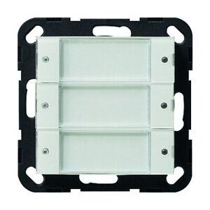 Gira Tastsensor Unterputz reinweiß glänzend 3fach 3pkt mit LED-Anzeige - 2003100