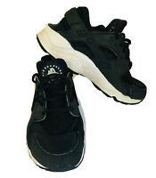 Nike Womens Air Huarache Black Running Sneaker 634835-006 Size 6