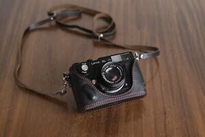 Mr. Zhou Black Leather Half Case for Leica Minolta CL Film Cameras 2021 New Ver