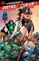 JUSTICE LEAGUE VS SUICIDE SQUAD #1 BART SEARS RIGHT COVER B 2016 DC COMICS