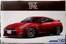 2014 Nissan GT-R R 35 Pure Edition JDM 1:24 Aoshima 051542