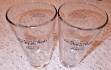 (2) Miller Coors Libbey Draught Beer 16 oz. Pourfection Mixing Glasses - NEW-