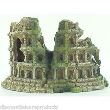 ACQUARIO Roman ampitheatre colonna Acquario Resina Decorazione Ornamento-MS769