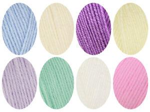 10 x 100g wool DK Robin Bonny Babe 100g DK  Knitting crochet Yarn 8 colours