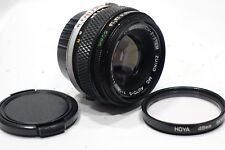 Olympus OM 50mm f/1.8 Zuiko MC/I Japón Lente & M filtro, se adapta a om montaje de cámara