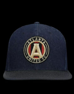 Atlanta United FC Official Mitchell & Ness Team Fitted Hat Size 7 3/8 $32