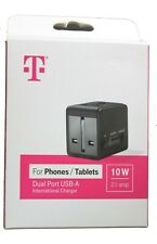 T mobile 10 W international charger  for phones and tablets