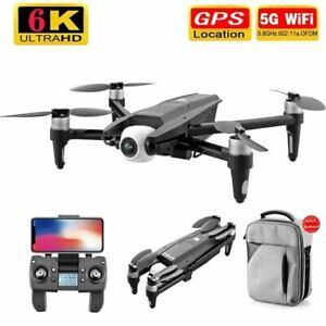RC Professional Drone Brushless Motor Two Axis With 6K 5G GPS HD Dual Camera