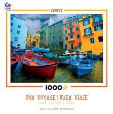 CEACO BON VOYAGE JIGSAW PUZZLE ITALY (BOATS) 1000 PCS 3368-11