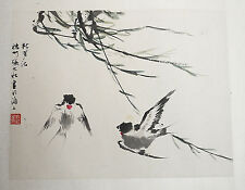 Chinese  Water  On  Paper  Painting    6