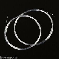 10pcs Fly Fishing Tapered Leader 9FT 1/2/3/4/5X Clear Nylon Leader Line & Loop