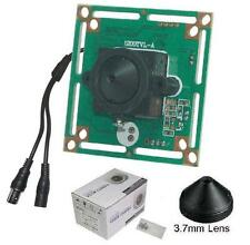 "Sunvision CCTV 1200TVL 1/3.5"" HD CMOS Board Camera + 3.7 mm Pinhole Lens (KC12S)"