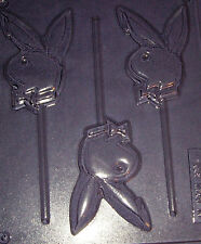 PLAYBOY BUNNY EMBLEM CHOCOALTE MOULD OR CHOCOLATE LOLLIPOP MOULD